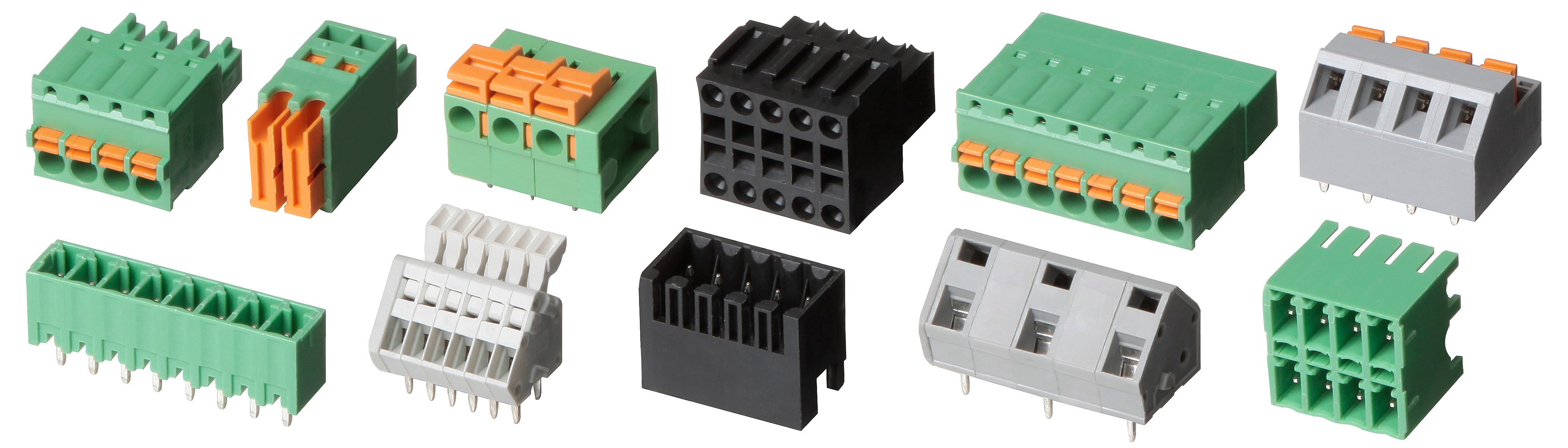 Terminal blocks and their application